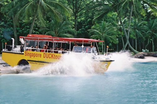 Duck tour singapore full of fun
