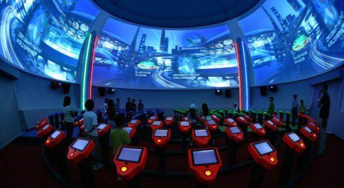 Singapore discovery center