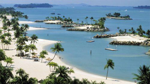 Siloso beach singapore