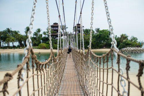 Palawan beach singapore bridge