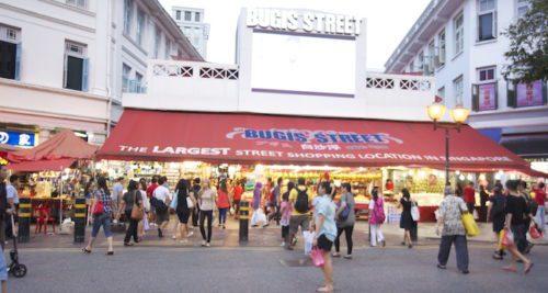 Bugis street market best shopping place