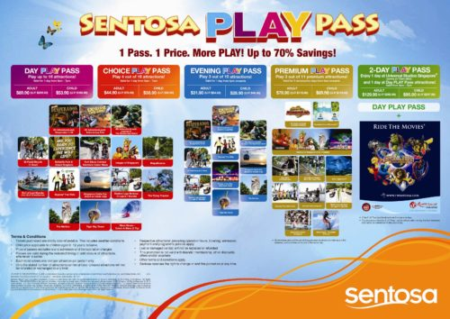 Sentosa island passes