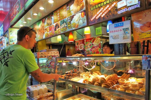 Bugis street food