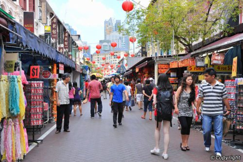 Chinatown singapore best shopping place