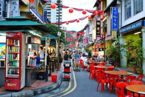 Chinatown singapore food court