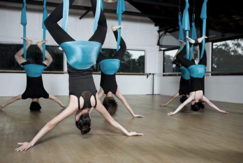 Antigravity aerial yoga singapore so unique
