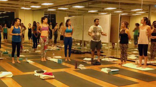 Pure yoga studio singapore