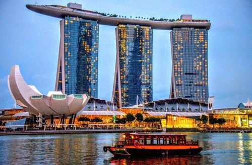 Merlion park must visited place in singapore