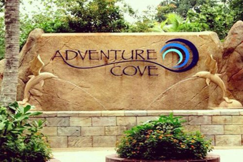 Adventure cove entrance