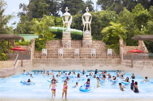 Bluewater bay wave pool