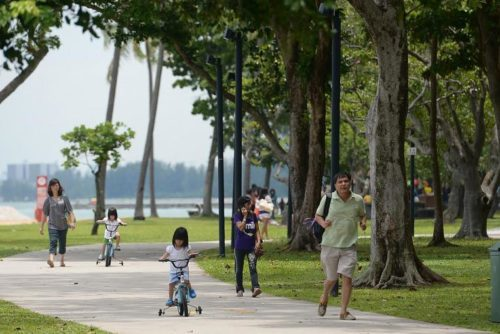 East coast park for family holiday