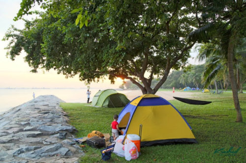 East coast park camping