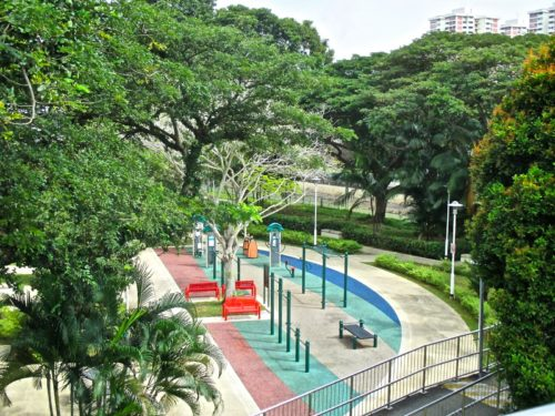East coast park fitness corner