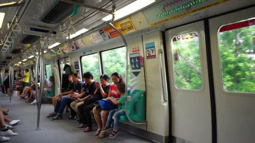 Green metro line