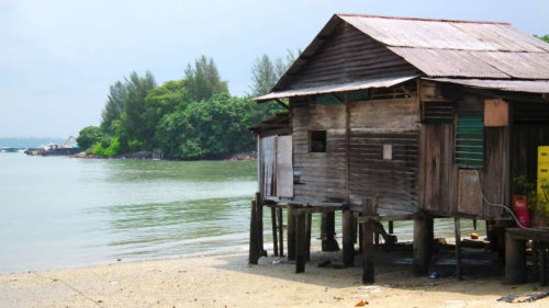 Pulau ubin traditional home