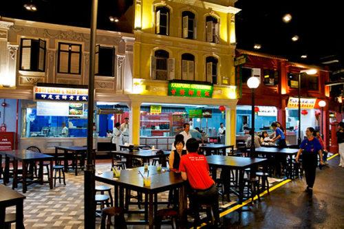 Malaysian food street sentosa