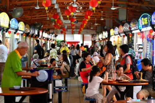 Hawker centre singapore for the best meal