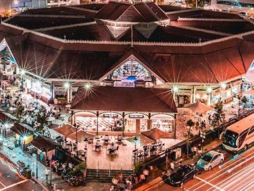 Largest hawker centre singapore