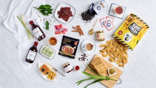 Singapore souvenirs food
