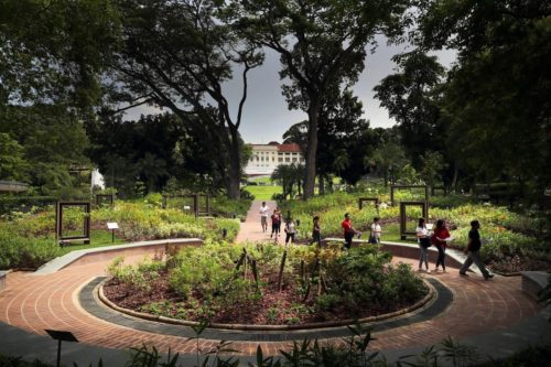 Farquhar garden fort canning park