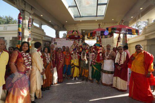 Kumbhabhishekam ceremony