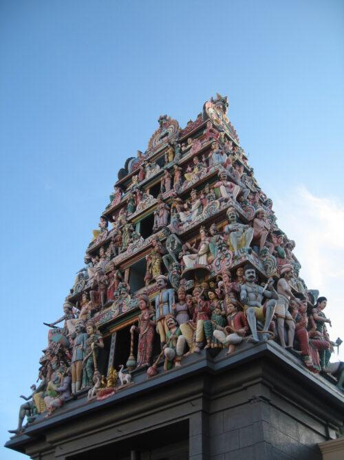 Sri mariamman temple detail