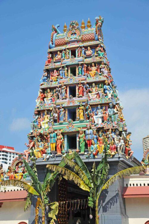 Unique sri mariamman temple